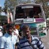 அய்யம் பேட்டை அருகே பஸ்-வேன் மோதல்: ஒரே குடும்பத்தை சேர்ந்த 4 பேர் பலி